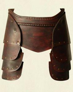 Skirt/thigh armor