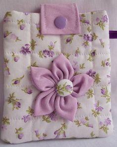 porta celular  em tecido 100% algodão R$ 15,00