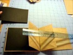 Paper Bag Mini - Step by step  Kathy Orta video series