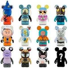 Disney Vinylmation Park 8 Series Tray | Disney StoreVinylmation Park 8 Series Tray - Continuing the tradition, our Vinylmation Park 8 Series collectible figures are inspired by historical Disney Parks attractions and icons. Now you can get a sealed tray of 24 individual boxes with the entire 3'' figure assortment.