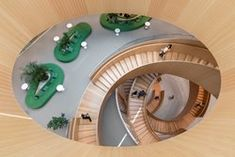Olympic House 3xn Architects Escalier