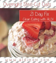 21 Day Fix: Overnight Oats Recipe