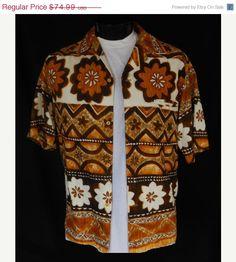 1960s Hawaiian shirt.