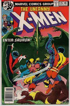 XMEN #115 Bronze Age Comics 1978 JOHN BYRNE Chris Claremont X-Men series Phoenix Wolverine Storm Nightcrawler Colossus