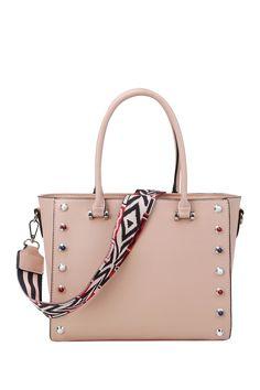 Handbag Republic Studded Satchel