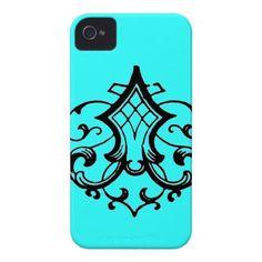 Fancy Decorative Scroll Case-Mate iPhone 4 Cases