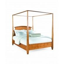 Sterling Pointe Poster Bed (Full, Maple) by American Drew SKU 181-373MR Include Sterling Pointe Poster Bed (Full, Maple) Only Price:$1,000.00