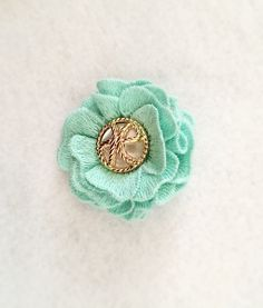 A personal favorite from my Etsy shop https://www.etsy.com/listing/251355476/vintage-flower-hair-clips-in-five-colors