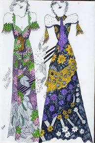 Oh, i love Celia Birtwell's textile designs!