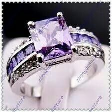 Beautiful purple ring