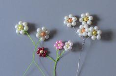 Flor de perolas Passo a Passo -Flower pearls