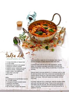 102 best food with recipe card images on pinterest homemade food if i had to list my all time favorite dal recipe it would be this simple satiating and soul comforting dal tad forumfinder Images