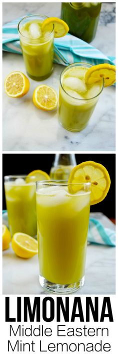 Great for a summer brunch! A common drink in the Middle East, limonana is refreshing and delicious for a hot day.