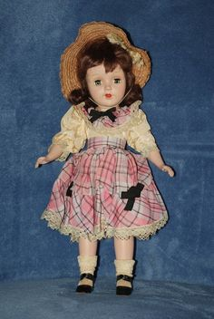 "14"" Vintage American Character Sweet Sue Doll All Original"