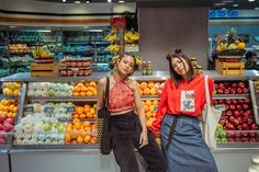 Shooting vlogger besties, Hannah Pangilinan and Janina Vela, as this month's felt like I had front-row access to an exclusive episode. Hannah Pangilinan, Front Row, Besties, October, Vintage, Friends, Girls, Style, Fashion