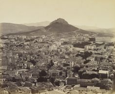 Athens, the modern city [Greece]  31 May 1862. Francis Bedford (1815-94). Acquired by the Prince of Wales, 1862.