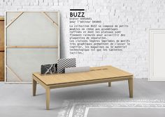 Table basse BUZZ éditon DASRAS