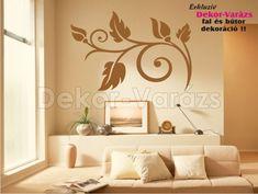 Virágos dekoráció falra és bútorra #motívum #dekormatrica #falmatrica #faltetoválás #növény #nappali #otthon #dekorációk #lakásberendezés #faldekoráció