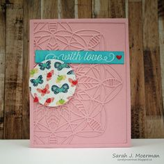 My Impressions: SSS August Card Kit: With Love & GIVEAWAY!