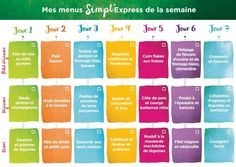 Diabetic meals 829717931323306340 - semaine de menus simpl'express Source by Menu Express, Menu Weight Watchers, Menus Healthy, Clean Eating Menu, Clean Diet, Weigth Watchers, Diet Inspiration, Batch Cooking, Diet Snacks