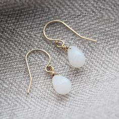 Moonbeam earrings by Mignon. $26