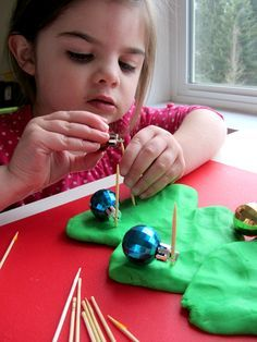 Trim the Tree: Fine Motor Activities