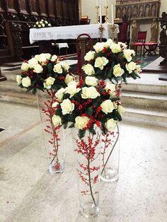 Matrimonio Natale Addobbi : Addobbo matrimonio natalizio santantonioposta