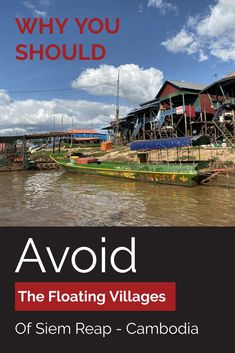The Best Guide To The Floating Villages of Siem Reap Cambodia. Everything you need to know if you plan to visit Tonle Sap's Floating Villages. Travel Advice, Travel Tips, Cambodia Travel, Travel Reviews, Online Travel, Amazing Adventures, Asia Travel, Dream Vacations, Trip Planning