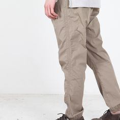 nonnative EXPLORER EASY RIB PANTS C/P TYPEWRITER - Silver and Gold Online Store