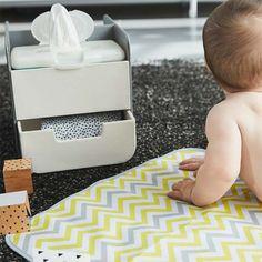 Organizador de pañales con cambiador. Productos para bebés de Olmitos