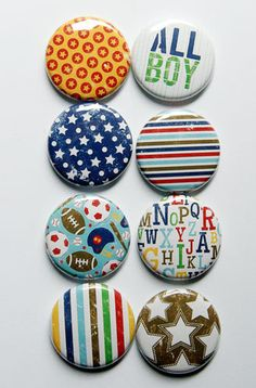 All Boy Flair 1 by aflairforbuttons on Etsy, $6.00  #aflairforbuttons #flair #flairbuttons