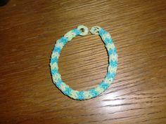 Kleenis bunte Seite: Loom Bands - Quadfish Armband