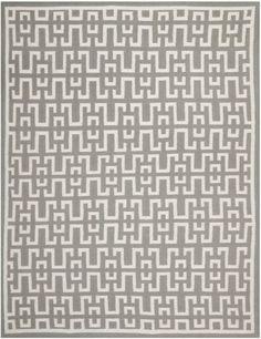 Safavieh DHU621B Dhurrie Collection Handmade Wool Area Rug, 8-Feet by 10-Feet, Soft Grey and Ivory Safavieh,http://www.amazon.com/dp/B00CM7RX6S/ref=cm_sw_r_pi_dp_BPfjtb13STC8YYK3