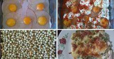 Nagyi receptje: Sült rakott borsó, a legtöbben nem is tudják, mi ez, pedig csodás étel! - Ketkes.com Nutella, Eggs, Cooking, Breakfast, Recipes, Food, Foods, Cuisine, Kitchen