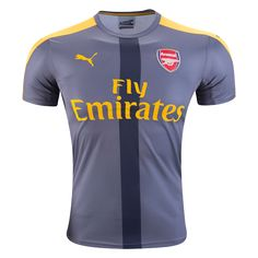 Arsenal 16/17 Away Prematch Jersey  |  $59.99  |  Holiday Gift ideas for the Arsenal fan at WorldSoccerShop.com