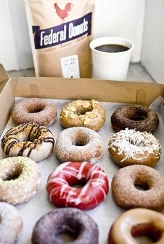 Federal Donuts, Philadelphia, Pennsylvania <  Donuts, coffee, and Korean-style fried chicken?!