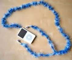 Great idea to make your head phones stand out.......CC