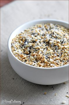 """A sprinkle of this """"everything"""" seasoning blend works great on eggs, pizza, pasta, cheese balls, sushi, potatoes, popcorn…the options are endless!"""