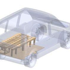 Sleeping Platform Truck Bed | Etsy Honda Element Camper, Campervan Bed, Camper Beds, Slide Out Shelves, Kitchen Storage Boxes, Minivan Camping, Chuck Box, Van Design, Sprinter Van