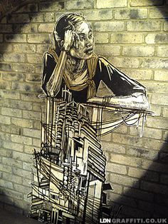 Piece of Art by Swoon. #swoon http://www.widewalls.ch/artist/swoon/