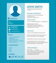 cv resume template - Cv Resume Template