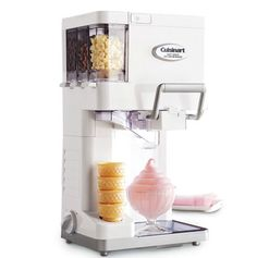 - I so want one! Soft Serve Ice Cream Maker by Cuisinart