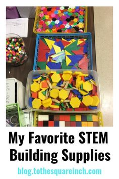 A complete list of STEM supplies for teaching STEM for middle school math lessons. Secondary math STEM supplies list cover materials for interactive STEM lessons. Science Supplies, Teaching Supplies, Teaching Resources, 6th Grade Science, Elementary Science, Math Activities For Kids, Steam Activities, Math Stem, Teacher Lesson Plans