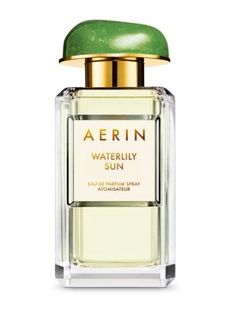 Spritz a touch of Aerin's Waterlily Sun Eau de Parfum for a fragrance experience that evokes a vision of sunlight reflecting on the water!