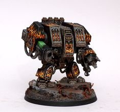 Legion of the damned dreadnought - nice flames
