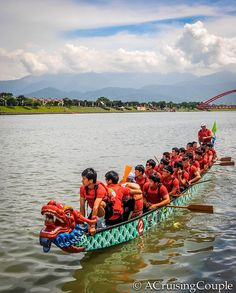 Dragon Boat Festival, Taiwan - A Cruising Couple