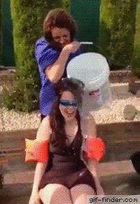 Ice Bucket Challenge Gone Wrong