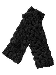 Gap | Honeycomb fingerless gloves