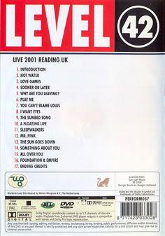 Level 42 - Live 2001 Reading UK (2006) DVD5 Copia 1:1 ENG LPCM-Ac3 2.0
