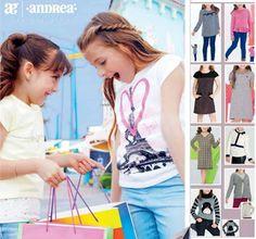 Catalogo de Andrea Dia del Niño 2016. Moda infantil de temporada. Zapatos de niños y niñas, ropa de moda para los peques.
